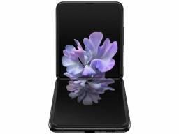 Smartphone Samsung Galaxy Z Flip SM-F700F 256 GB Mirror Black Dual Chip<br><br>