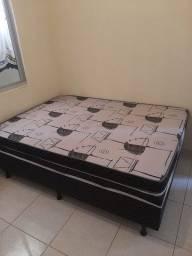 Vendo cama box + colchão