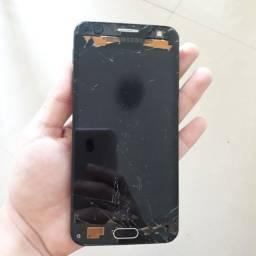 Samsung J5 prime display queimado