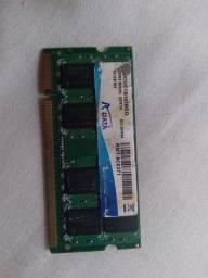 Memória RAM DDR2 notebook  2gb 800