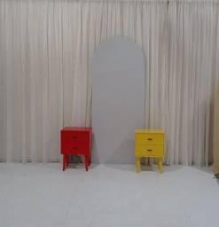 Painel moderno cinza MDF 18MM