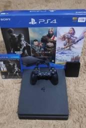 PlayStation 4 Slim 1TB com 40 Jogos