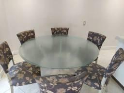 Título do anúncio: Vendo conjunto mesa e cadeiras - semi novo