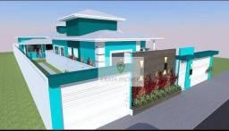 Lançamento! Casas 3 quartos (não geminadas) bom quintal, bairro Residencial Rio das Ostras