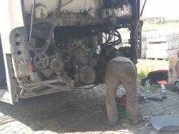 Motor Mercedez 457completo, batido valor R$5.000.00