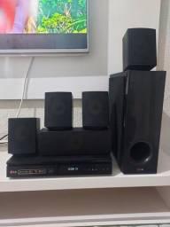 Home theater LG / blu-ray3d C/ dvd - 1000w