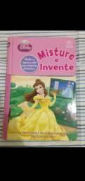 Livro Princesas Disney Misture e Invente crie sua história