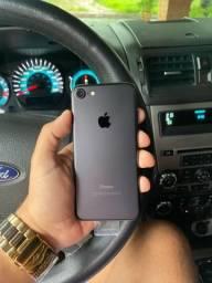 iPhone 7 128gb Preto Estado de Zero! Aceito Cartão!