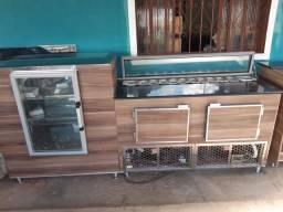 Balcão refrigerado p/ restaurante,lanchonete etc..
