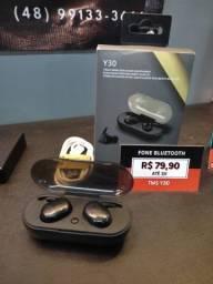 Título do anúncio: Fone Bluetooth TWS Y30 (Produto Novo)