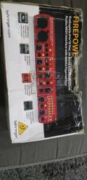 Interface de audio Behringer FCA610