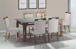 Mesa Joana 6 Cadeiras - 160x90