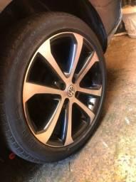 Vendo ou (troco + volta Rodas 13 com pneus perfil 165/70)