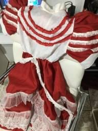 Vestido de prenda infantil P