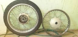 Jogo de roda de ferro start 160