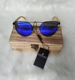 Óculos De Sol Feminino Estilo Gatinho Polarizado Importado