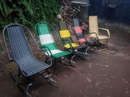 Cadeiras de Balanço é Mola Adulto é infantis
