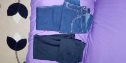 Duas calças veste 38 concervadas limpas