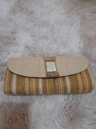 Lindas bolsas e sandália semi novas