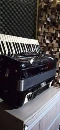 Sanfona Italiana  Sonola em 4 de voz com captação profissional AZS 108 Power