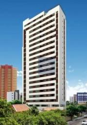 Flat com 1 dormitório para alugar, 33 m² por R$ 2.000/mês - Aflitos - Recife/PE