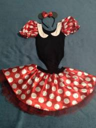Vendo Fantasia da Minnie Mouse