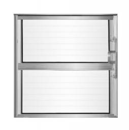 Título do anúncio: Basculante Alumínio Vidro Canelado 30x30 cm - Aluvid