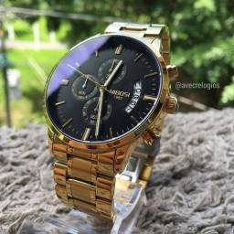 Relógio Nibosi Masculino luxo