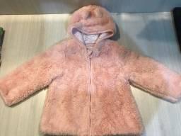 Jaqueta peluciada 12/18 meses.