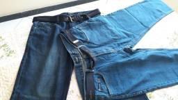2 calças jeans Pierre Cardin novas