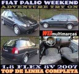 Título do anúncio: Fiat Palio Weekend Adventure Try On 2007 Top 1.8 Flex 8V