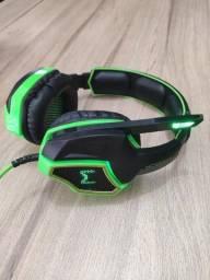 Headset Gamer Multilaser USB 7.1 Verde