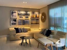 Apartamento com 3 dormitórios para alugar, 113 m² por R$ 4.500,00/mês - Alphaville I - Sal