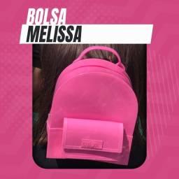 Bolsa (Leia a Descrição) Bolsa Mochila Melissa Nova