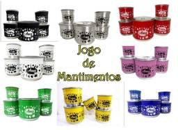 Jogo de Mantimentos - Frete Grátis - Varias Cores