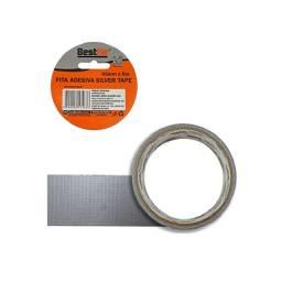 Título do anúncio: Fita Adesiva Multiuso Silver Tape Prata 45MMX5M BFH1040