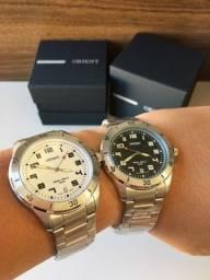 Relógios Orient originais Prata Temos Outras Cores