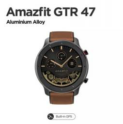 Smartwatch Amazfit GTR 47mm a prova d'água 5atm Versão Global