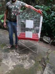 Gaiola para papagaio ou calopsita