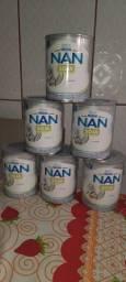 Leite Nan Soja  R$ 30,00 cada lata.