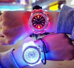 Relógio Feminino com Led - EC-70