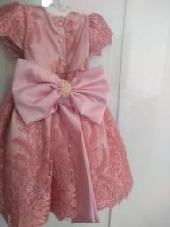 Vestido princesa 1 ano