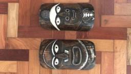 Máscara decorativa de Bali - uma dupla NOVA