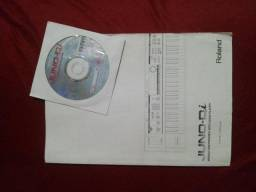 Manual Original Roland Juno Di