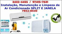 M.P Instalação de Ar Condicionado, Split, Janela, Eletricista, Técnico em