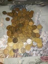Vendo moedas antigas Leia a descrição