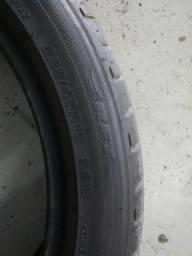 Pneu run flat Bridgestone semi novo 225/45/19