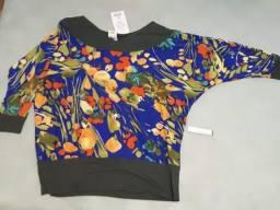 (6 Unidades) - Blusas   blusinhas feminina