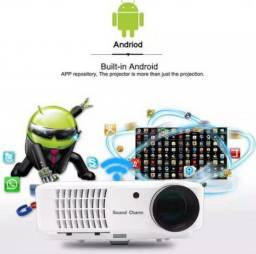 010c799fefd Projetor de 5500 lumen sistema Android