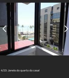 Apartamento jatiuca sala cozinha mobiliado na 1ª quadra do mar e com vista , Jatiúca
